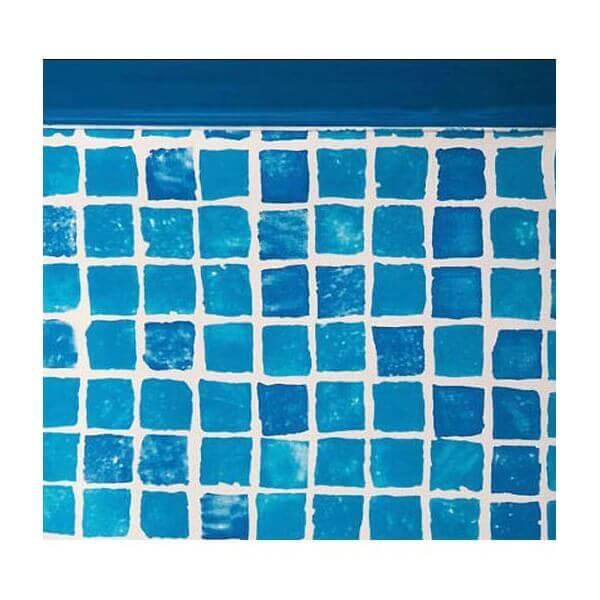 Liner mosaiques fpr357 pour piscine hors sol gr ronde for Liner piscine ronde 5 50
