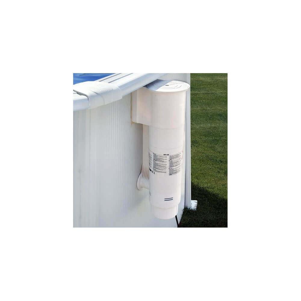 Skimmer motoris cartouche 3 8 m3 h pour piscine hors sol for Skimmer piscine
