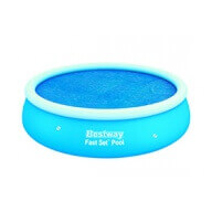 Bâche à bulles D 210 pour piscine Fast Set Pool Ronde D 244 cm - Bestway