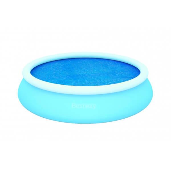 B che bulles d 250 pour piscine fast set pool ronde d for Bache a bulle pour piscine hors sol
