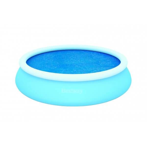 B che bulles d 250 pour piscine fast set pool ronde d for Bache piscine easy set