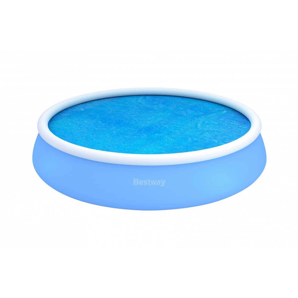b che bulles d 455 pour piscine fast set pool ronde d 549 cm bestway. Black Bedroom Furniture Sets. Home Design Ideas