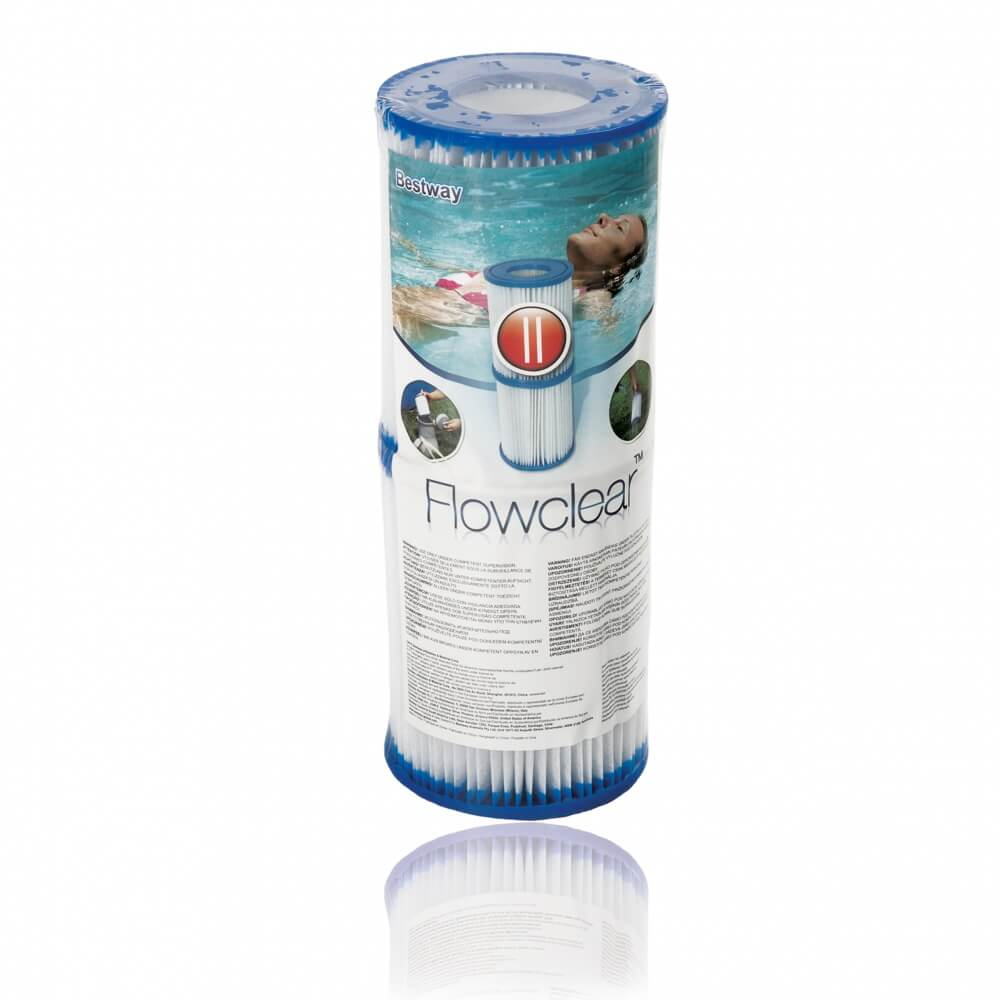 Cartouche de filtration bestway type ii lot de 2 mypiscine for Bestway piscine