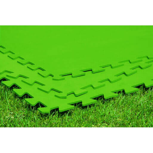 Lot de 8 tapis de protection 81 x 81cmpour spa gonflable - Tapis de sol gonflable ...