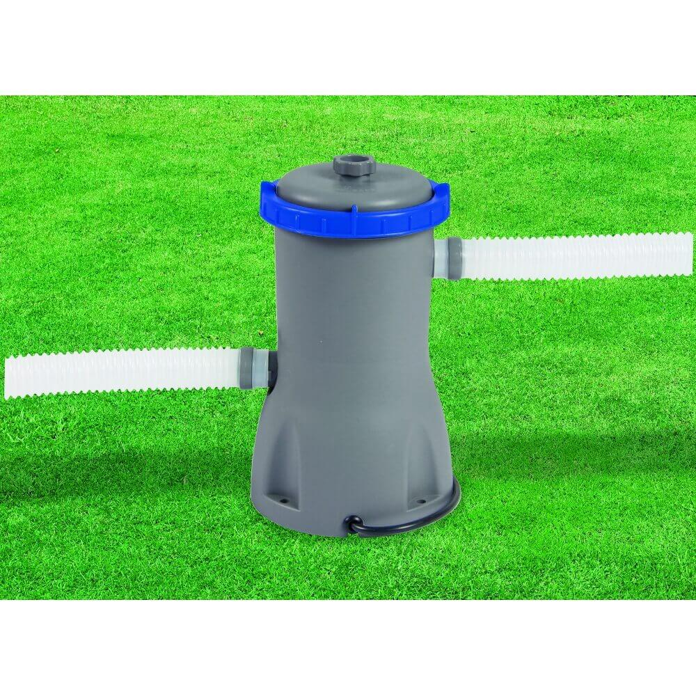 filtre cartouche 3 m3 h 25w cartouche type ii bestway. Black Bedroom Furniture Sets. Home Design Ideas