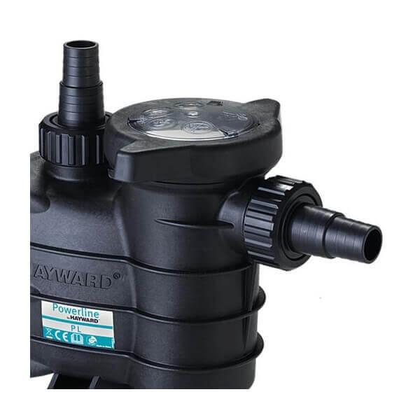 Pompe de filtration hayward powerline new cv 13 m3 for Pompe piscine chauffante
