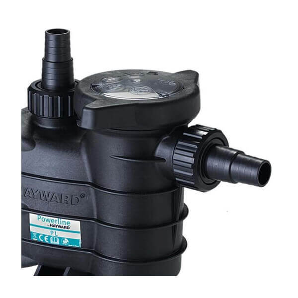 Pompe de filtration hayward powerline new 1 cv 15 m3 h for Pompe de piscine chauffante