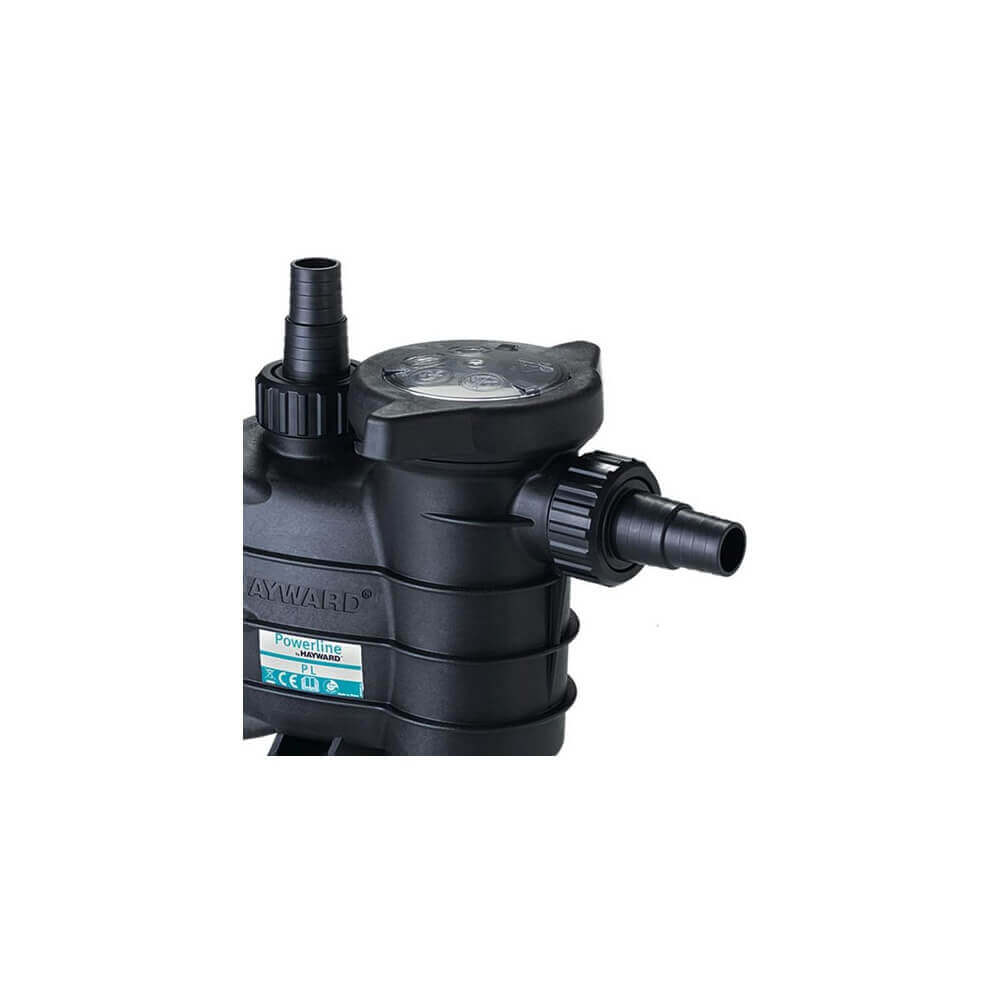 Pompe de filtration hayward powerline new 1 cv 15 m3 h for Pompe piscine 1 5cv