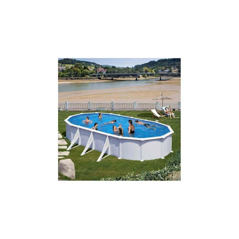 piscine hors sol gre atlantis ovale 810 x 470 h132 mypiscine. Black Bedroom Furniture Sets. Home Design Ideas
