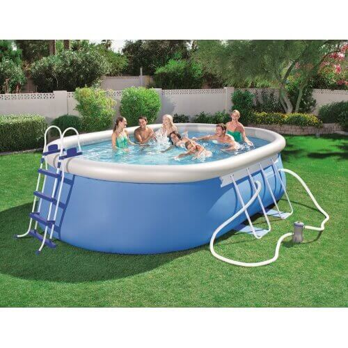 piscine autoportante ovale 488 x 305 x h107 cm mypiscine. Black Bedroom Furniture Sets. Home Design Ideas