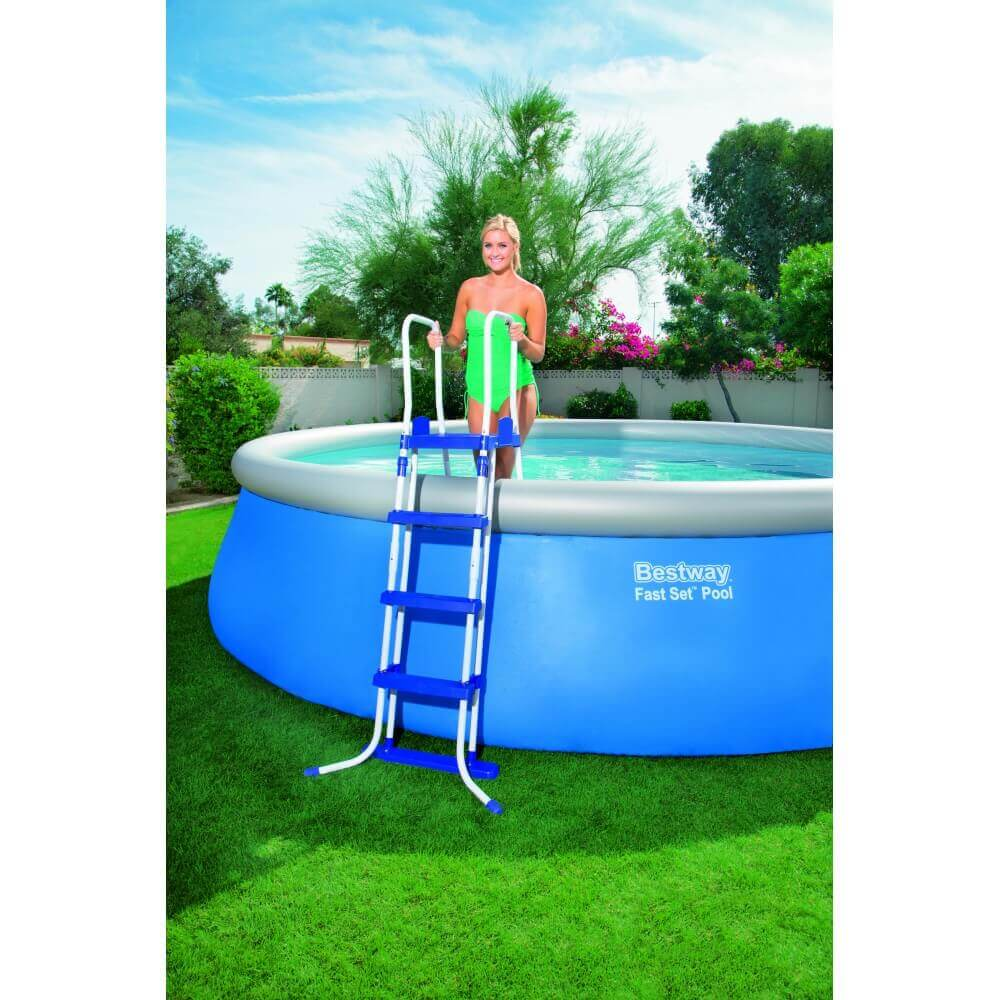 piscine autoportante ronde 457 h122 cm mypiscine. Black Bedroom Furniture Sets. Home Design Ideas