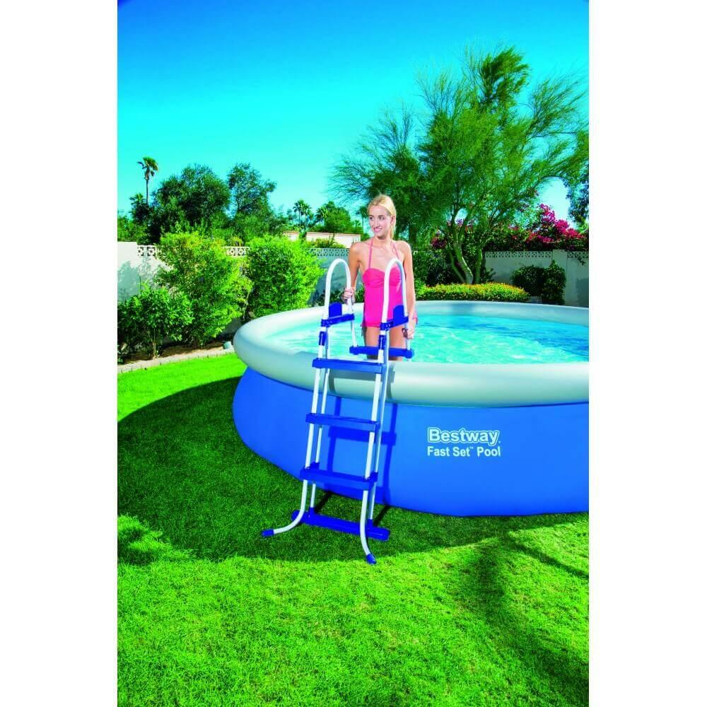 piscine autoportante ronde 457 x h107 cm mypiscine. Black Bedroom Furniture Sets. Home Design Ideas