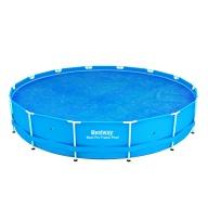 Bâche à bulles D 440 pour piscine Frame Pool D 457 cm - Bestway