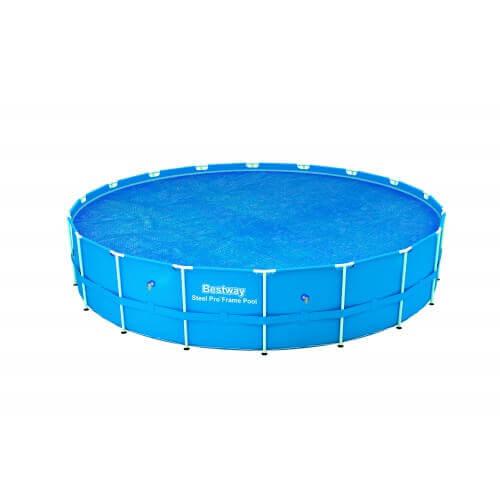 Bâche à bulles D 290 pour piscine Frame Pool D 305 cm - Bestway