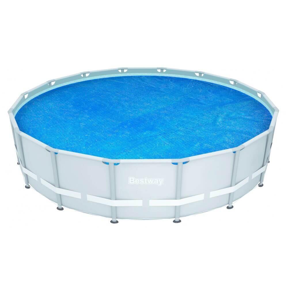 B che bulles d 470 pour piscine frame pool d 488 cm for Liner pour piscine hors sol bestway