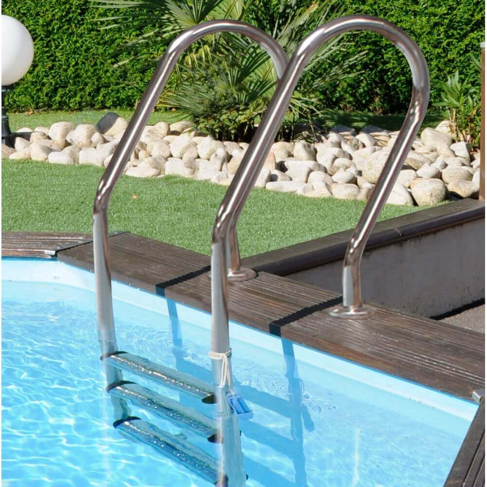 Piscine hors sol sunbay en bois 6 72x4 72m mypiscine for Sur quoi poser une piscine tubulaire