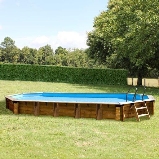 Piscine hors sol sunbay en bois 8 72x4 72m mypiscine for Piscine sevilla