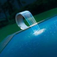 Cascade de piscine Mamba LED