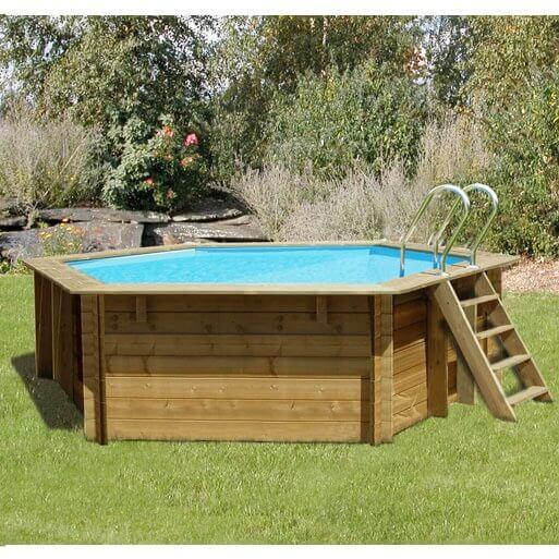 Piscine hors sol sunbay en bois 4 12m mypiscine for Wa conception piscine