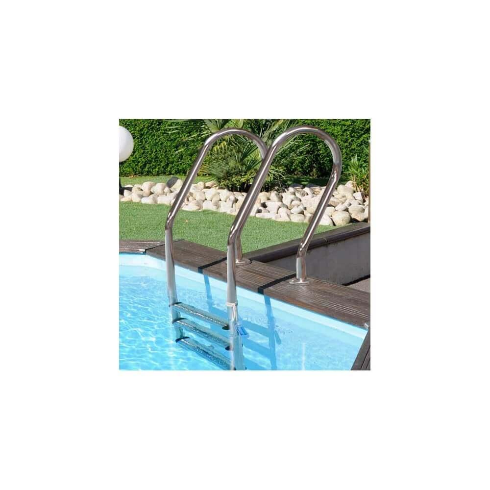 piscine bois vanille premium