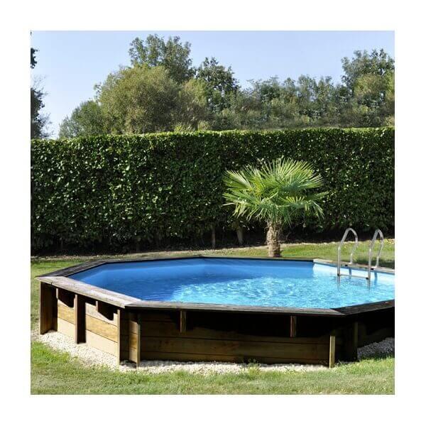 piscine bois vanille