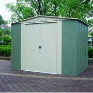 Abri de Jardin métal Colorbond 3.77 m² TRECO