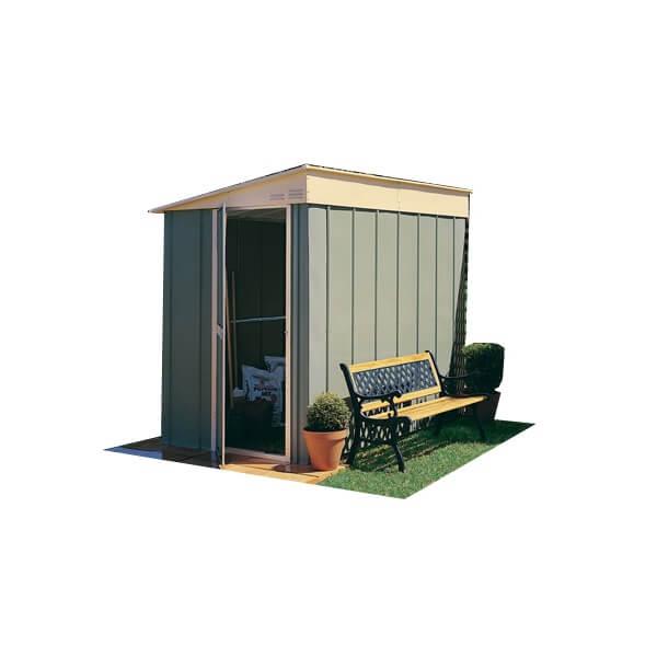 abri de jardin m tal adossable m treco mypiscine. Black Bedroom Furniture Sets. Home Design Ideas