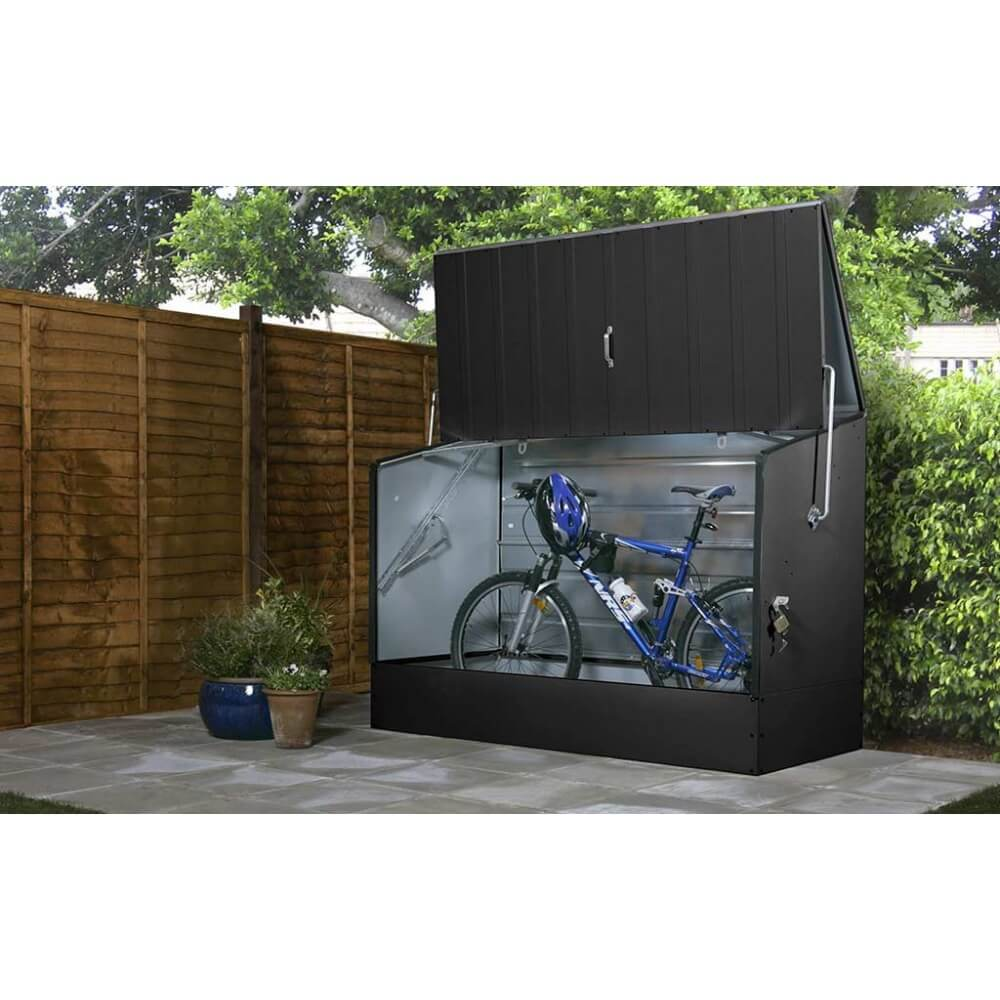 abri v los bicycle store anthracite mypiscine. Black Bedroom Furniture Sets. Home Design Ideas