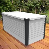 Coffre de rangement design 1,46 m² - 4 coloris au choix