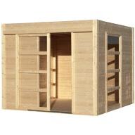 Abri de jardin en bois 19mm Summerhouse Cosy