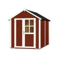 Abri de jardin en bois 19 mm Sonderborg 2 Rouge
