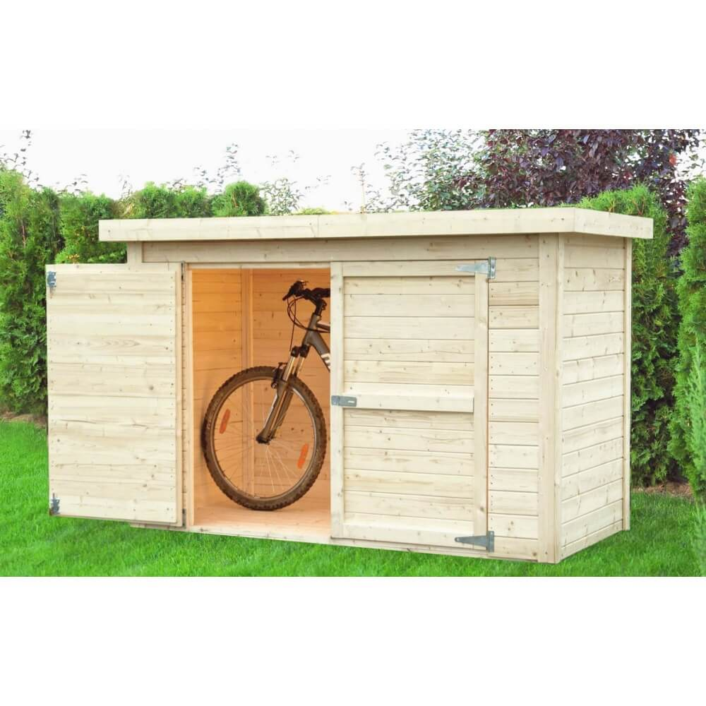 abri v los en bois 14 mm cykel mypiscine. Black Bedroom Furniture Sets. Home Design Ideas
