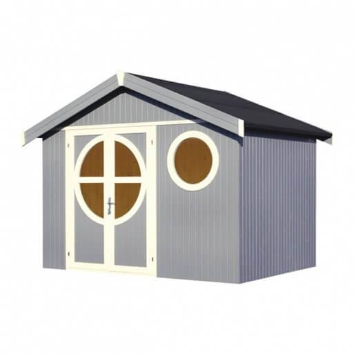 abri de jardin en bois 19 mm ol ron design mypiscine. Black Bedroom Furniture Sets. Home Design Ideas