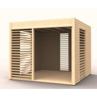 Abri de jardin en bois 19mm Summerhouse Arty