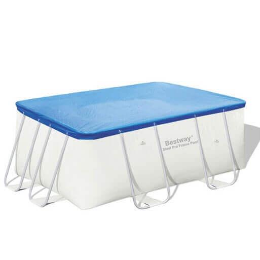 bache piscine bestway 412*201