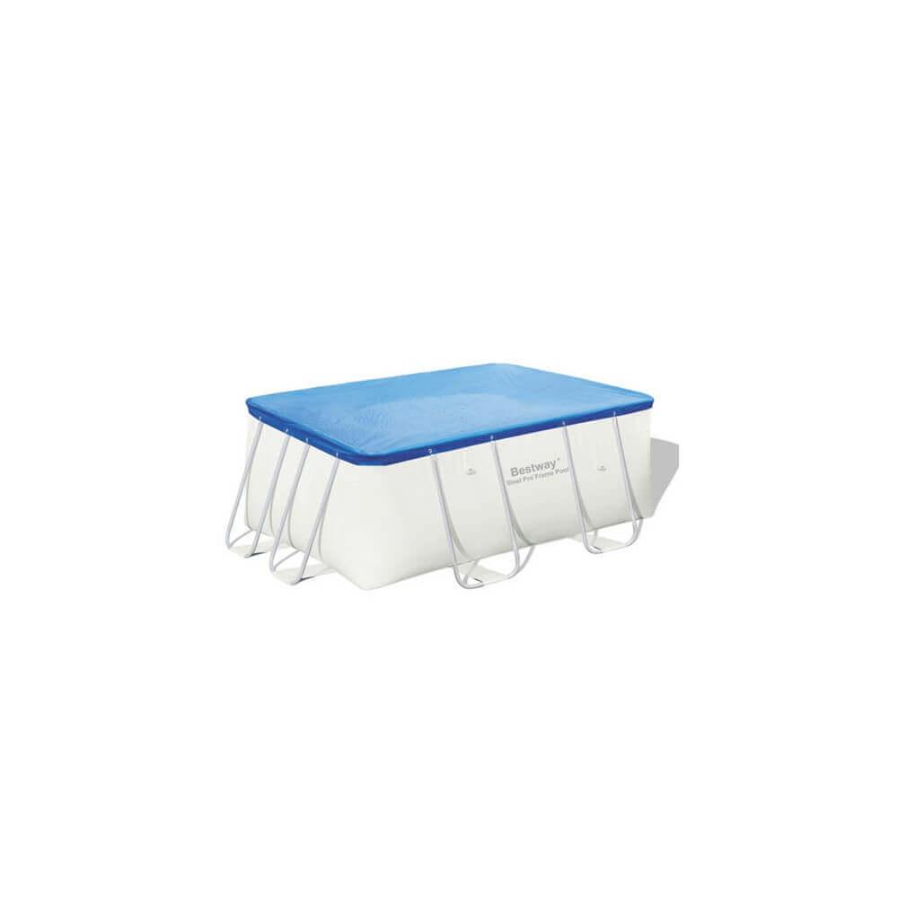 b che 4 saisons pour piscine tubulaire bestway 412 x 201 cm. Black Bedroom Furniture Sets. Home Design Ideas
