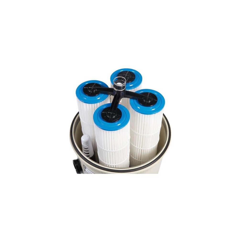 Filtre diatom e pentair quad d e 20 4 m3 h mypiscine for Diatomee piscine