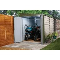 Garage à motos métal Titan 960 - vert bicolore