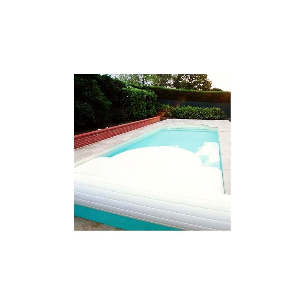 volet de piscine automatique avec banc bois mypiscine. Black Bedroom Furniture Sets. Home Design Ideas