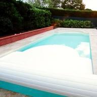 Volet piscine à batterie