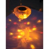 Lampe fantaisie flottante pour piscine
