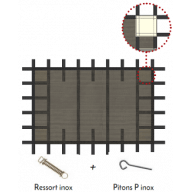 Couverture filtrante de sécurité Morzines