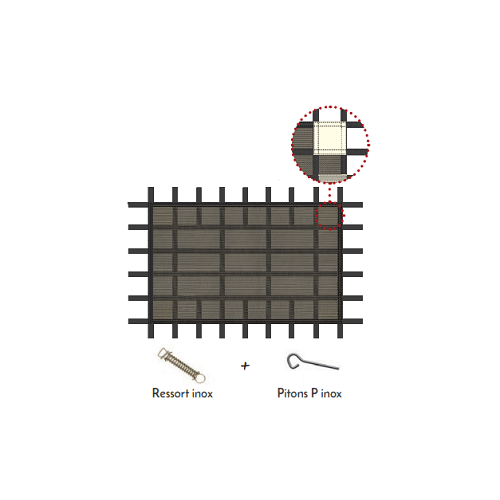 Couverture filtrante de sécurité Avoriaz