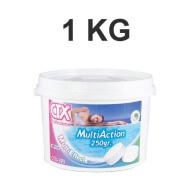 Chlore Multi Action CTX 393 - 1 Kg - Galets 250 gr