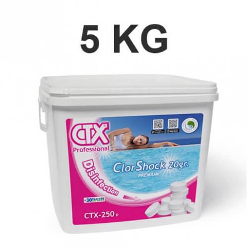 Chlore rapide choc pastilles 20 gr 1 kg mypiscine - Pastille de chlore ...