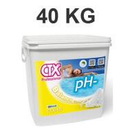 Ph Moins en granulés 40 Kg CTX