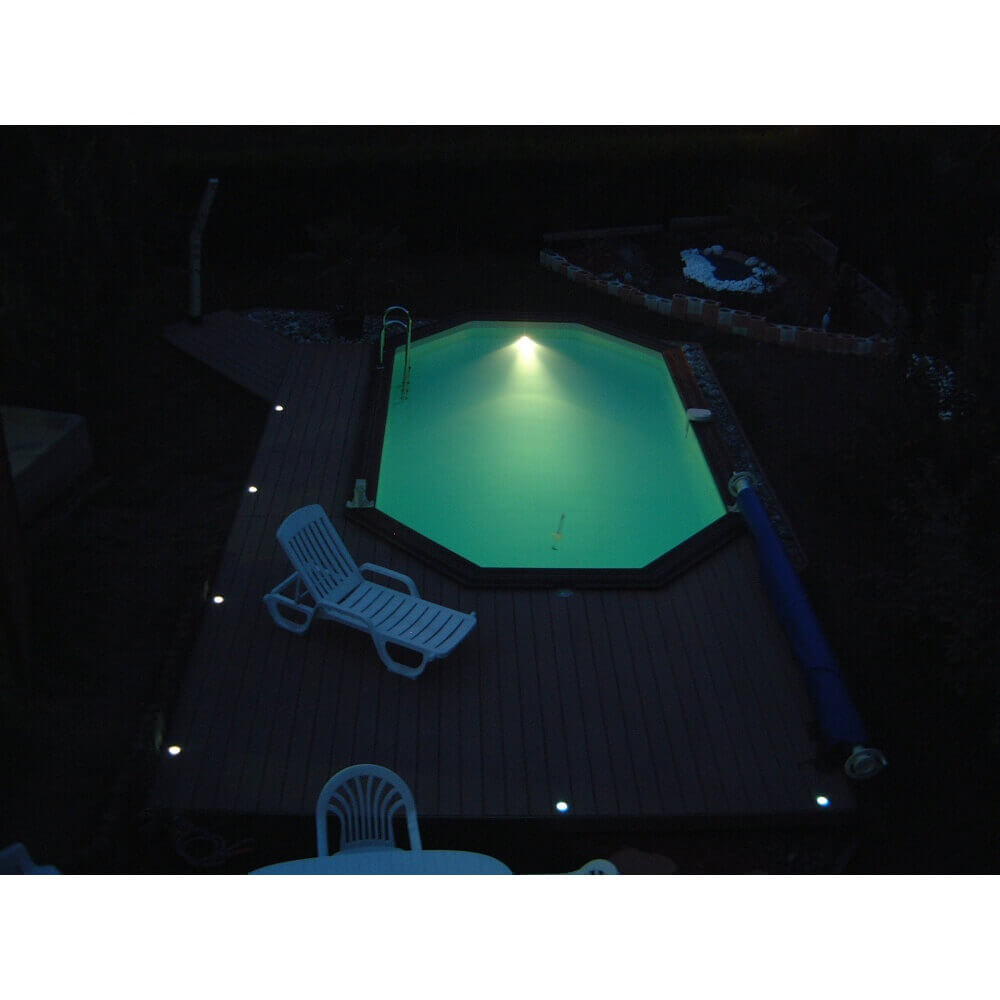 Kit spot led ubbink mypiscine - Lumiere led pour piscine ...