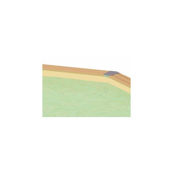 Liner piscine ubbink 355 x 490 cm x cm mypiscine for Piscine avec liner beige