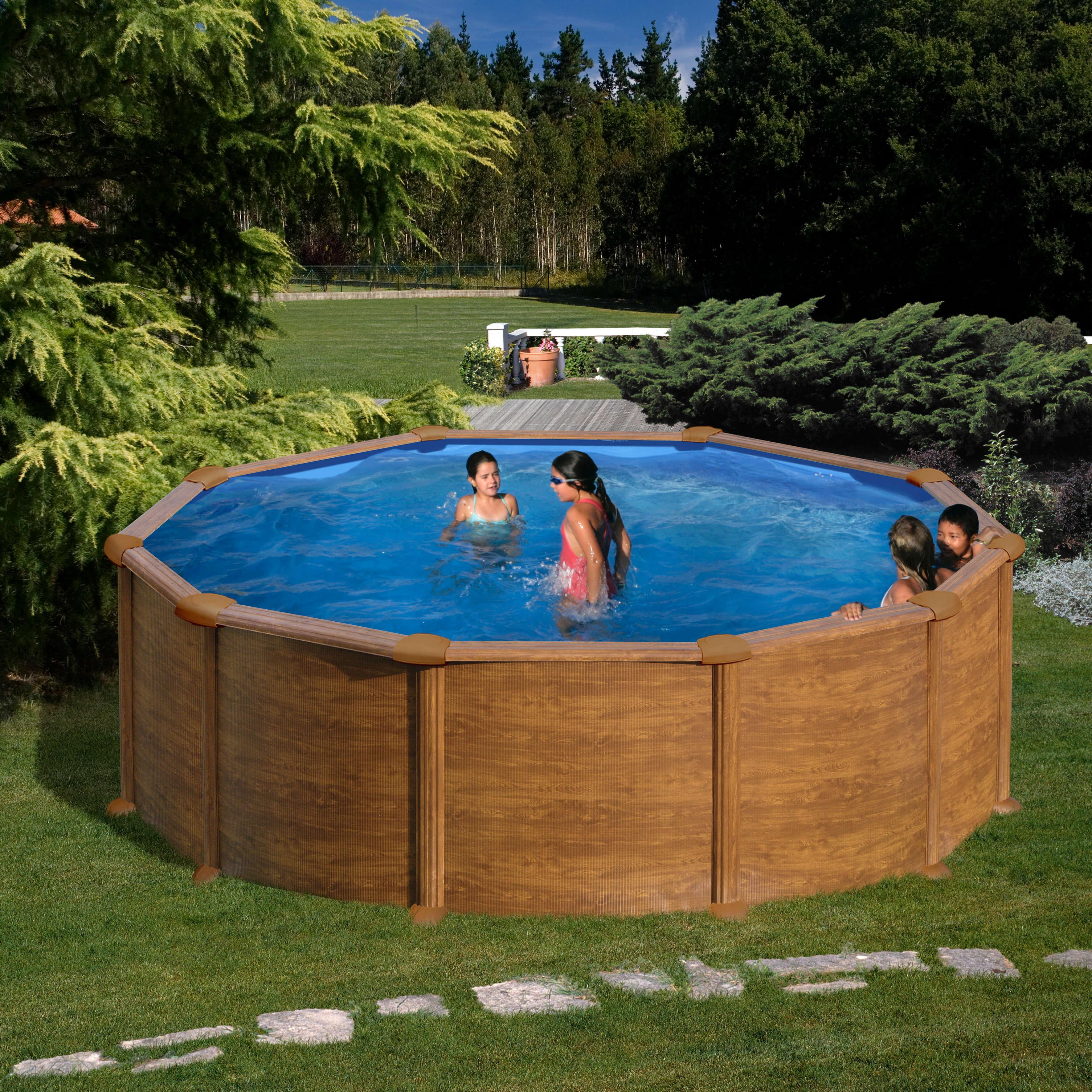 Comment Monter Une Piscine Hors Sol piscine hors sol mauritius Ø370 x h 132 cm - filtre à sable