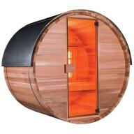 Sauna Extérieur Barrel Modèle Infrarouge 150 cm